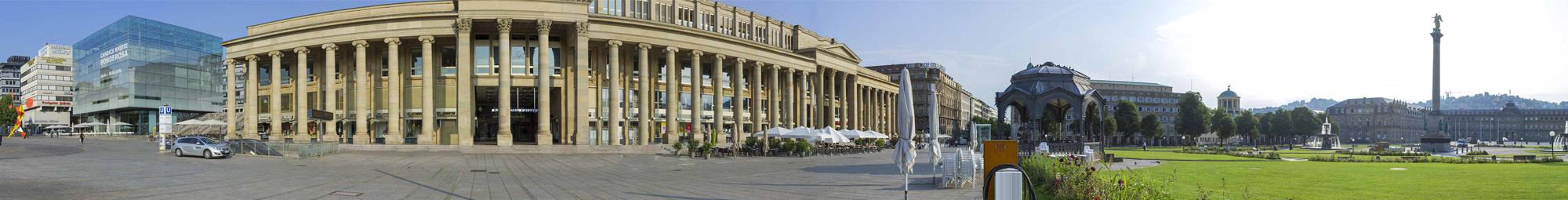Stuttgart Schlossplatz 360°