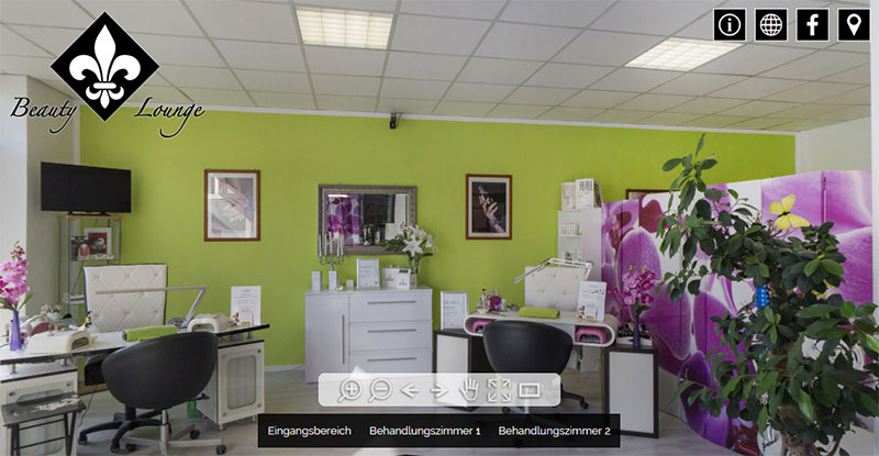 360° Tour Beauty Lounge Gerlingen