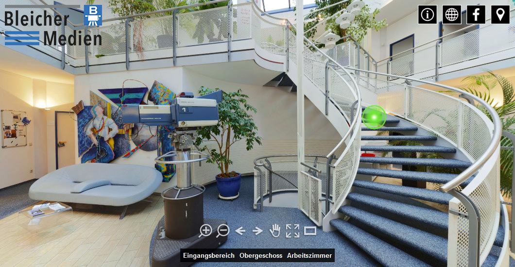 360° Tour: Bleicher Medien GmbH in Gerlingen